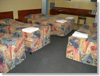 Family rooms at the Coolibah Motel
